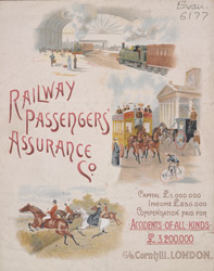 Advert for the Railway Passengers Assurance Company 6177